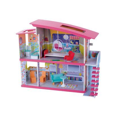 Beautiful ELC Magic Dolly Duplex Wooden Dollsu0027 House