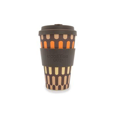 Ecoffee Cup Girona Silicone Cup, 14 oz/400 ml (Brown)