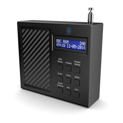 Majority Arbury Portable DAB FM Radio With Built In Battery
