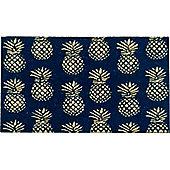 Bombay Duck Pineapple Door Mat Rug 75 x 45 cm