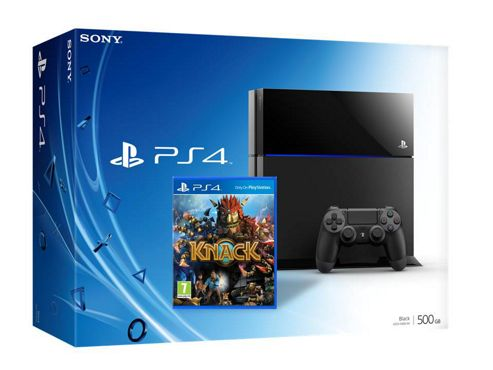 PlayStation 4 (PS4) Console with Knack