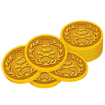 Discontinued - Jake & Neverland Pirates Gold Pirate Coins
