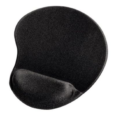 Hama Ergonomic Mouse Mat Black