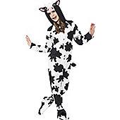 Cow Children's Costume - Black, White & White