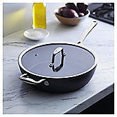 Go Cook Hard Anodised Saute Pan 28cm