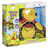 Winnie The Pooh Pendulum Wall Clock