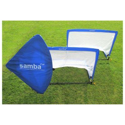 Samba 4ft Pop-Up Football Goals x2