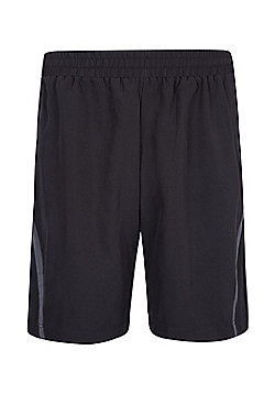 Mountain Warehouse Mens Running Shorts - Black