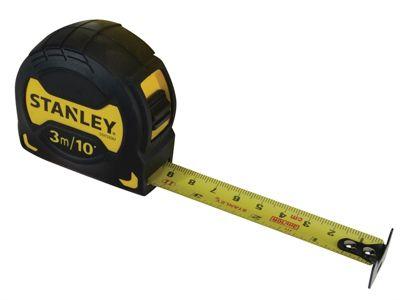 Stanley Grip Pocket Tape 3m/10ft (Width 19mm)