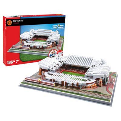 3D Stadium  Puzzle Man Utd