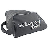 600D Polyester Boot / Shoe Bag Black - Yellowstone