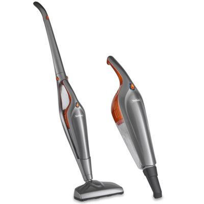 buy vonhaus 19 2v cordless li ion 2 in 1 upright stick and handheld vacuum cleaner with crevice. Black Bedroom Furniture Sets. Home Design Ideas