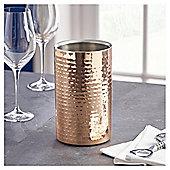 Fox & Ivy Copper Hammered Wine Cooler