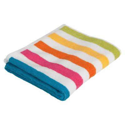 Tesco Bright Stripe Hand Towel
