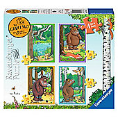 The Gruffalo - 4 In 1 Puzzle