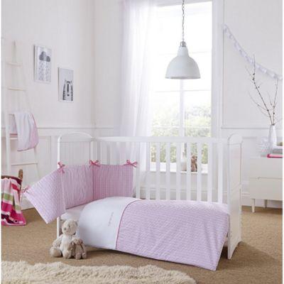 Clair de Lune 2pc Cot/Cot Bed Bedding Set (Barley Bebe Pink)