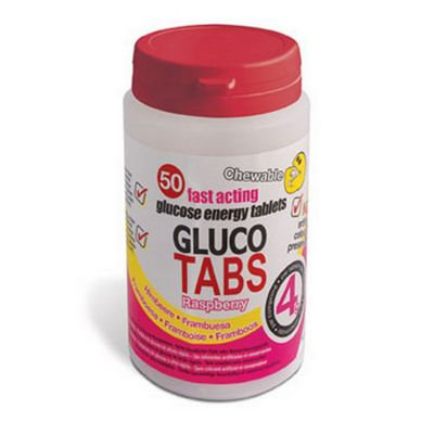 Bbi Healthcare Glucotabs Raspberry 50s 50 Tablets