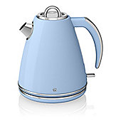 Swan SK24030BLN 1.5 Litre, Jug Kettle, with 3000W, and 360 Degree Base, in Blue