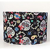 Day Of The Dead, Large Fabric Light Shade