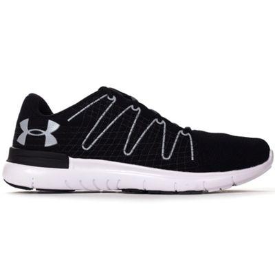 Under Armour Thrill 3 Mens Running Trainer Shoe Black / White - UK 7