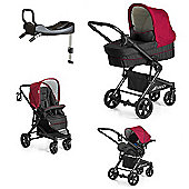 Hauck Atlantic Plus Trio with Isofix Base - Tango