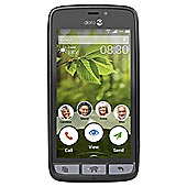Tesco Mobile Doro 8030 Black Steel
