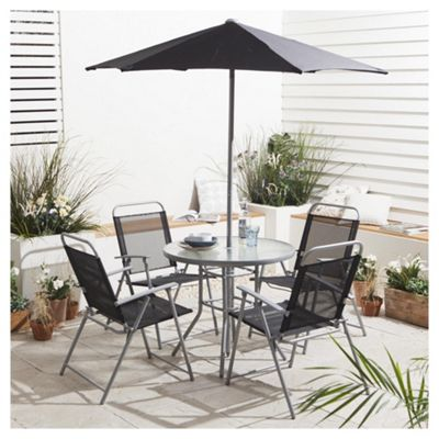 Buy Tesco Hawaii Garden Furniture Set 6 piece from our Metal