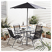 Tesco Hawaii Garden Furniture Set, 6 piece
