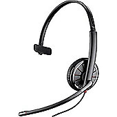 Plantronics Blackwire C315-M Wired Mono Headset - Over-the-head - Supra-aural - Black