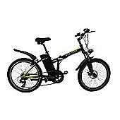 "Chameleon FDXL 10Ah 24"" Wheel Electric Folding Bike"