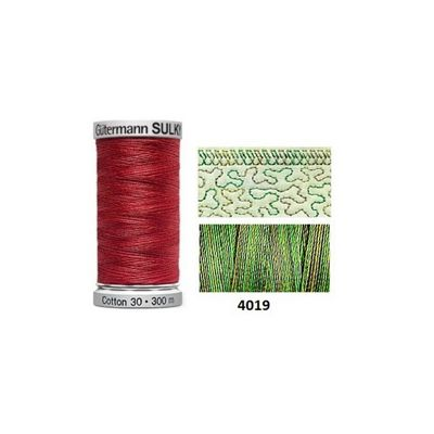 Gutermann Sulky Variegated Cotton 300m Forest Floor