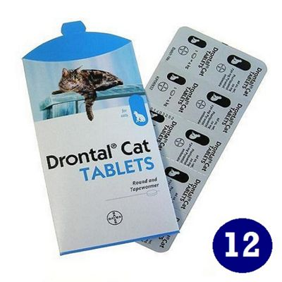 Drontal Cat Tablets (12 pack)