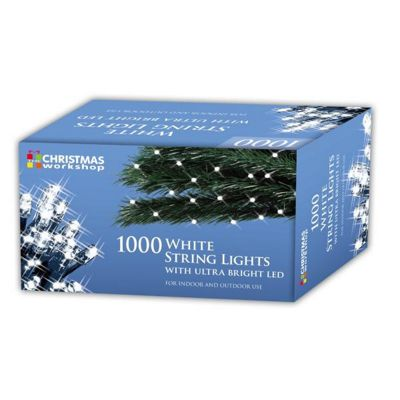 christmas workshop 1000 led chaser string lights