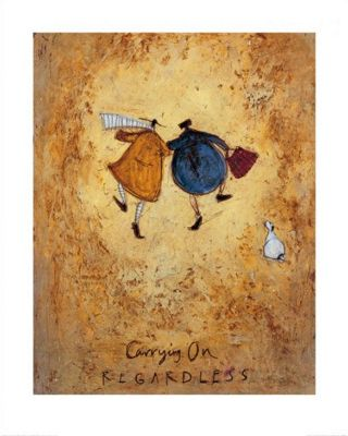Sam Toft Carrying On Regardless Print