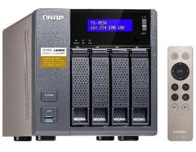 QNAP TS-453A-8G 4-Bay Network Attached Storage Enclosure