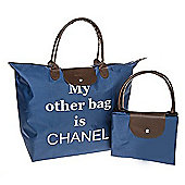 My Other Bag Fold Up Large Shopping Bag