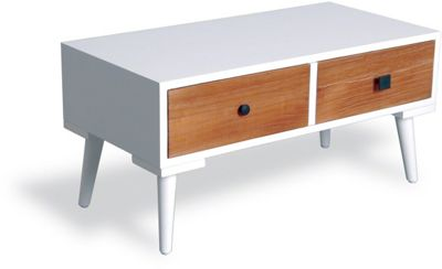 Ultimum Twist Fake 2 Drawer - 1 Drawer Side Table