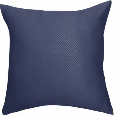 Homescapes Navy Blue Herringbone Chevron Cushion Cover