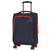 IT Luggage The-Lite Chicane 8 Wheel Blue/Orange Small Suitcase