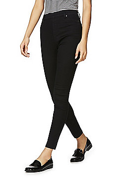 F&F Premium Mid Rise Jeggings - Black
