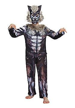 F&F Tribal Werewolf Halloween Costume - Grey