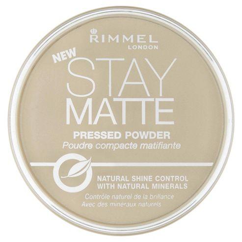 Rimmel Stay Matte Pressed Powder Warm Beige/Champagne