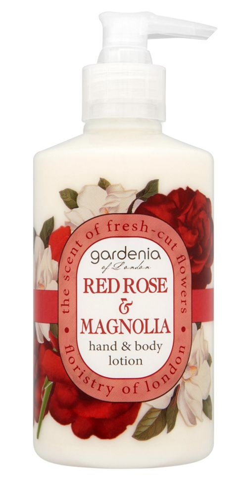 Gardenia of London Red Rose & Magnolia Hand & Body Lotion