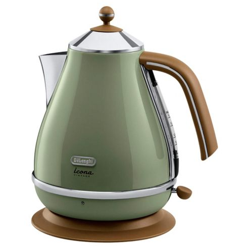 Delonghi Vintage Icona 1L Jug Kettle - Green