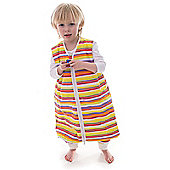 Snoozebag WITH FEET Sleeping Bag 2.5 Tog - Stripes 18-24 Months