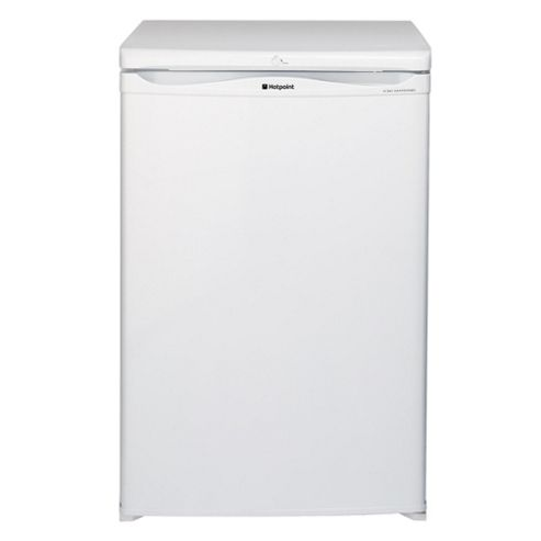 Hotpoint RSAAV21P Under counter fridge with freezer box