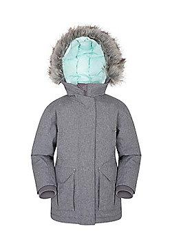 Zakti Kids Freeze Over Waterproof Down Jacket - Grey