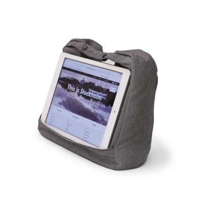Bosign Tablet & Travel 2-in-1 Pillow Salt & Pepper Grey