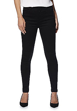 F&F Contour High Rise Skinny Jeans - Black