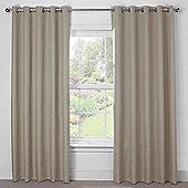 Julian Charles Luna Mocha Blackout Eyelet Curtains - 44x54 Inches (112x137cm)
